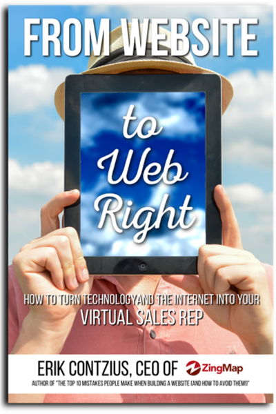 From website to web right